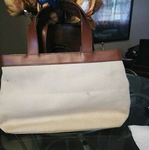Dkny purse canvas